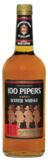 100 Pipers Blended Scotch Whisky  1.0Ltr